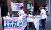 Continua nel finesettimana la raccolta firme a Tradate per il referendum sull'eutanasia