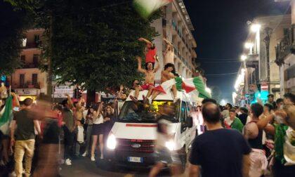 Italia Campione d'Europa, tra folla e follia: foto e video dei festeggiamenti a Saronno e Tradate