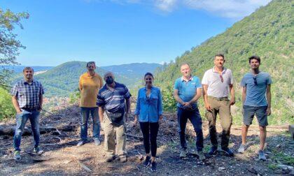 I Presidenti dei parchi naturali del varesotto in visita al San Martino con il WWF
