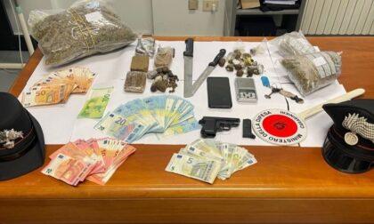 Castiglione: in casa 2 chili di droga, un'arma e banconote false. Arrestato 20enne