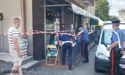 Sparo a Castiglione Olona, un uomo ferito fuori dal bar
