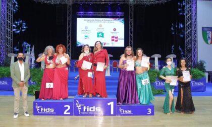 Freti e Lago due ballerine d'oro, trionfano al campionato Italiano di Danza Sportiva Fids