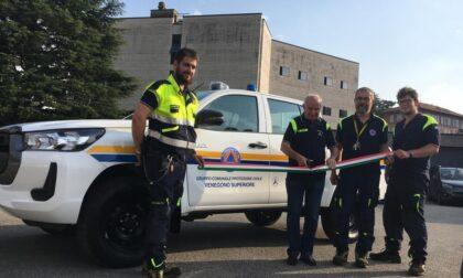 Un  nuovo pick-up alla Prociv per monitorare al meglio il territorio