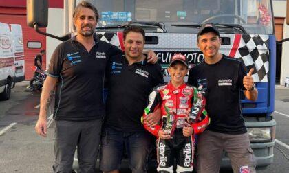 Valentino Sponga è vice campione italiano di Aprilia 250