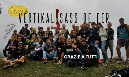 Vertical Trail, Luca Ponti e Bianca Morvillo conquistano il Vibram Vertikal Sass de Ferr