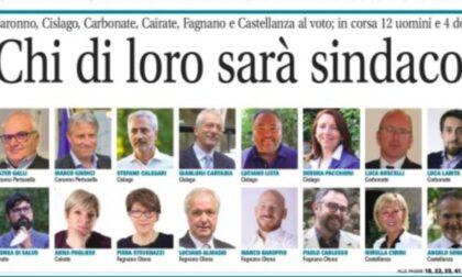 Elezioni comunali 2021: su La Settimana nomi e volti di tutti i candidati in corsa