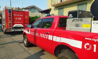 Piccione incastrato in una canna fumaria a Gorla: arrivano i soccorsi