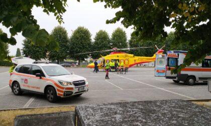 Quattordicenne investito a Solbiate Olona, elicottero in codice rosso