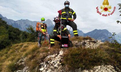 Turista tedesca dispersa in Friuli, anche i VVF di Varese con il Dedalo impegnati nelle ricerche