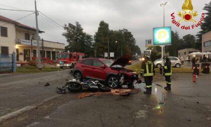 Schianto mortale a Vergiate, senza vita un motociclista di 27 anni
