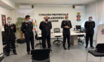 Carabinieri, presentati i nuovi vertici di Varese, Tradate e Castiglione Olona