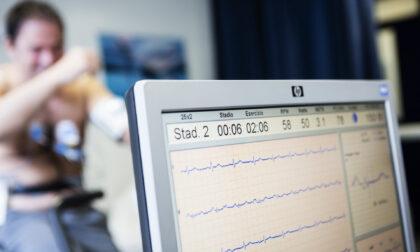 Alla Maugeri di Tradate visite ed elettrocardiogrammi sul camper dell'Associazione Pazienti