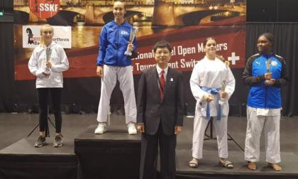Karate, la saronnese Bossi argento all'Open di Basilea