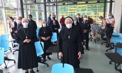 Origgio, nuova ala della scuola dedicata a Suor Lodovica