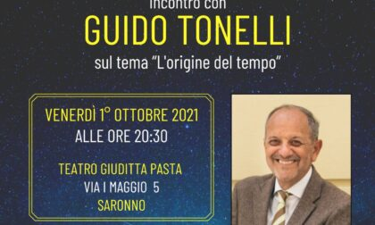 Il fisico Guido Tonelli a Saronno per la Festa della Filosofia