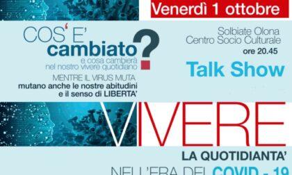 L'impatto del virus sulla vita quotidiana: talk show a Solbiate Olona