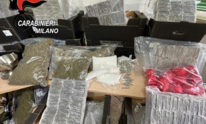 """Scoperte due """"fabbriche"""" di droga: sequestrati oltre 700 chili di stupefacenti"""