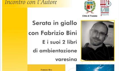 Serata in giallo in Frera, Fabrizio Bini presenta due libri ambientati nel varesotto