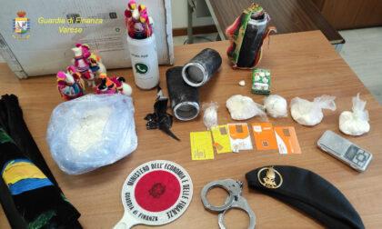 Arte in viaggio? No, droga: fra tele e quadri 4 chili di cocaina pura