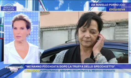 Truffa dello specchietto e aggressione, la vittima di Rovello intervistata dalla d'Urso