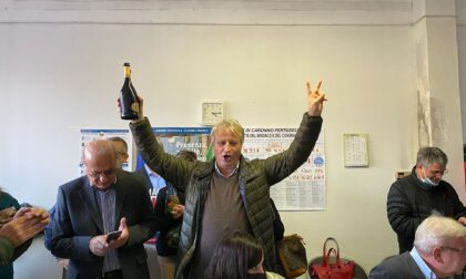 A Caronno il centrosinistra festeggia: Giudici riconfermato sindaco