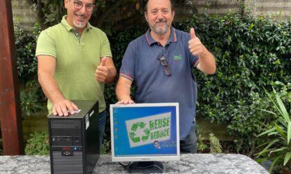 Computer rigenerato e donato a Cristalli d'Argento