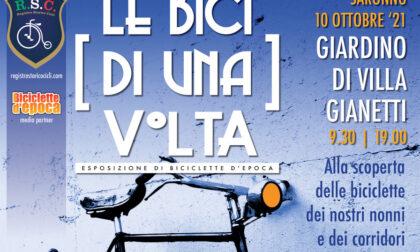 """Domenica a Villa Gianetti """"Le bici di una volta"""""""