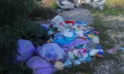 Turate, dieci furgoni riempiti di rifiuti grazie ai volontari