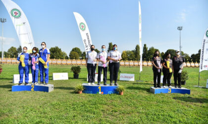 Gara bagnata, gara medagliata per gli arcieri varesotti ai Campionati Italiani